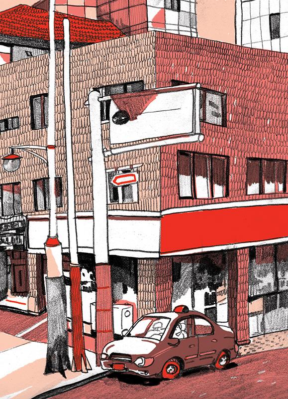 Corner building
